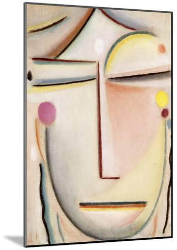 Abstract of a Head: Morning Light, C.1920-Alexej Von Jawlensky-Mounted Giclee Print