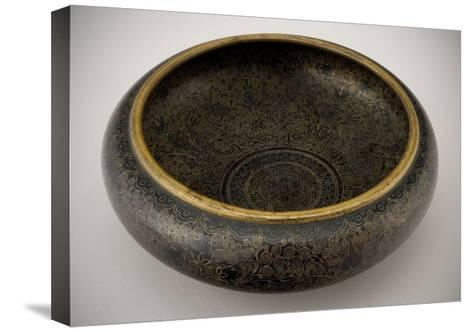 Bowl--Stretched Canvas Print