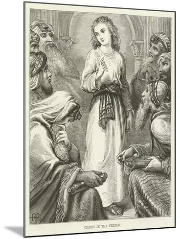 Christ in the Temple--Mounted Giclee Print