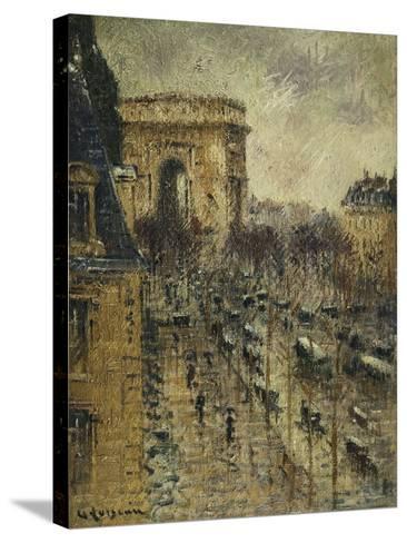 L'Arc De Triomphe, C.1930-1931-Gustave Loiseau-Stretched Canvas Print