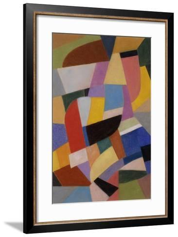 Composition; Komposition, C.1935-1937-Otto Freundlich-Framed Art Print