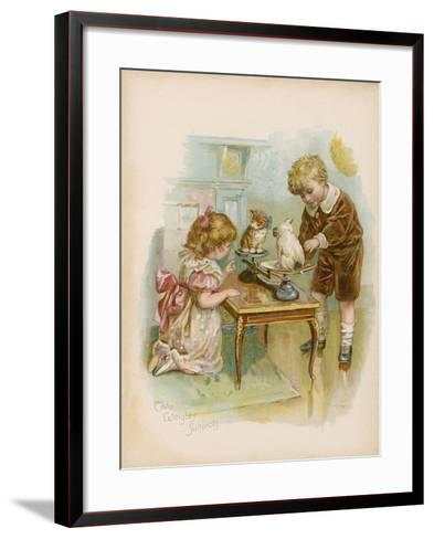 Two Weighty Subjects--Framed Art Print