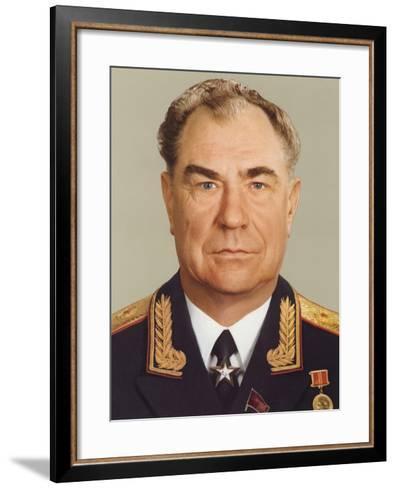 Dmitry Timofeyevich Yazov--Framed Art Print