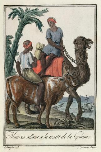 Moores Trafficking Gum-Jacques Grasset de Saint-Sauveur-Stretched Canvas Print