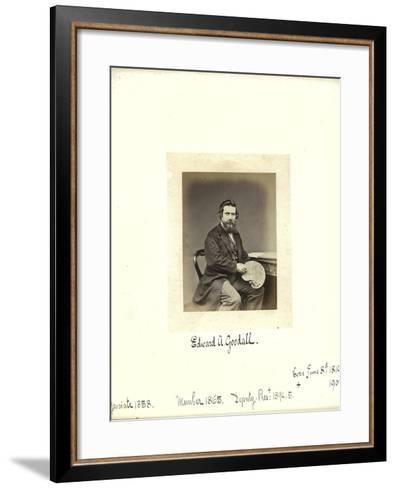 Edward A. Goodall, 1864--Framed Art Print