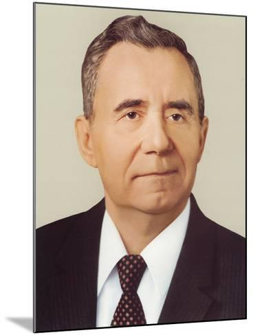 Andrei Andreyevich Gromyko--Mounted Photographic Print