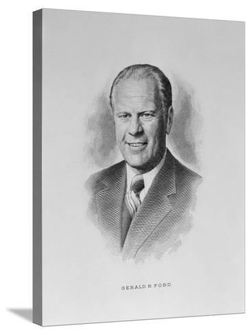 Gerald R. Ford--Stretched Canvas Print