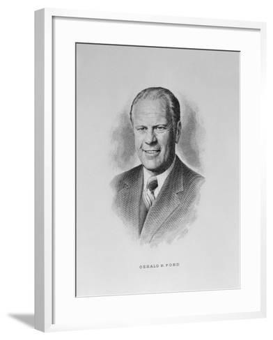 Gerald R. Ford--Framed Art Print