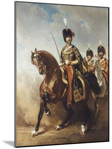 A Portrait of General Fleury on Horseback-Alfred Dedreux-Mounted Giclee Print