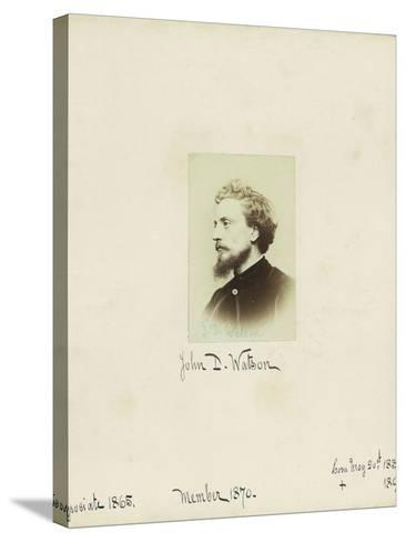 John D. Watson, 1864--Stretched Canvas Print