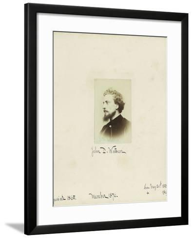 John D. Watson, 1864--Framed Art Print