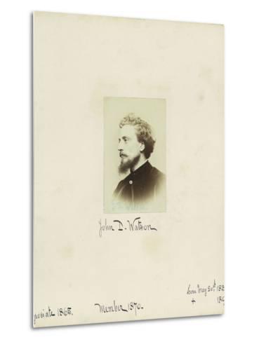 John D. Watson, 1864--Metal Print