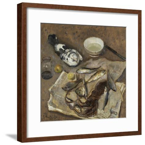 Still Life, 1937-Evasio Montanella-Framed Art Print