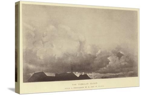 The Cumulus Cloud--Stretched Canvas Print