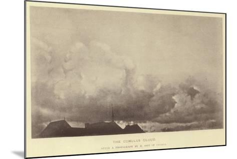The Cumulus Cloud--Mounted Giclee Print