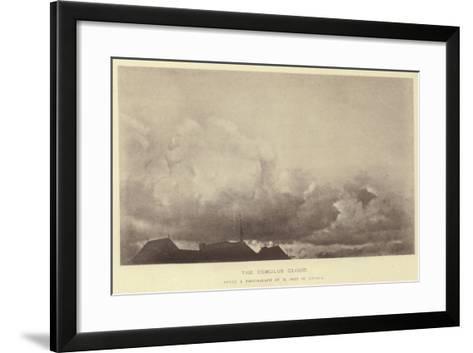 The Cumulus Cloud--Framed Art Print