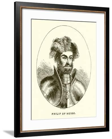 Philip of Hesse--Framed Art Print