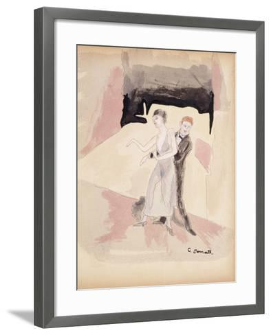 Dancers-Charles Demuth-Framed Art Print
