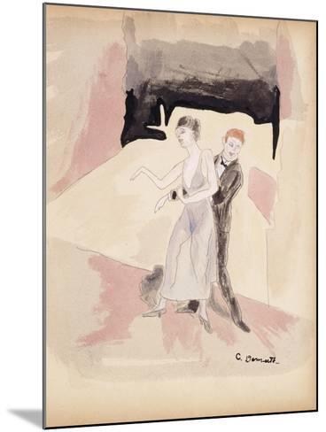 Dancers-Charles Demuth-Mounted Giclee Print