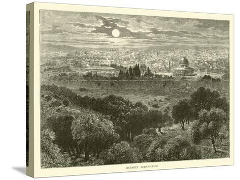 Modern Jerusalem--Stretched Canvas Print