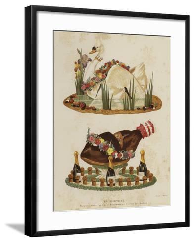 En Surprise--Framed Art Print