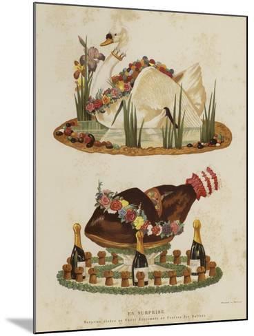 En Surprise--Mounted Giclee Print