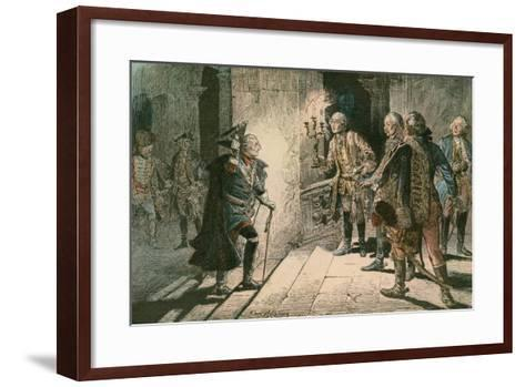 Frederick the Great-Carl Rohling-Framed Art Print