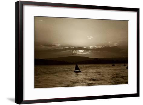 Sunset, Exmouth, 1911--Framed Art Print