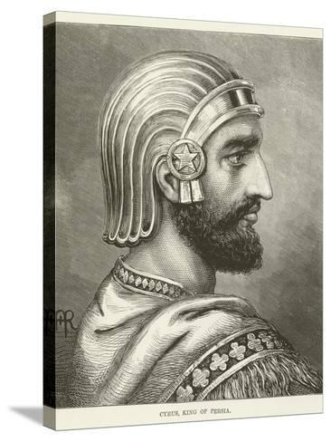 Cyrus, King of Persia--Stretched Canvas Print