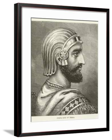 Cyrus, King of Persia--Framed Art Print