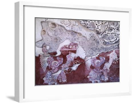 Fresco from the Culture of Teotihuacan--Framed Art Print