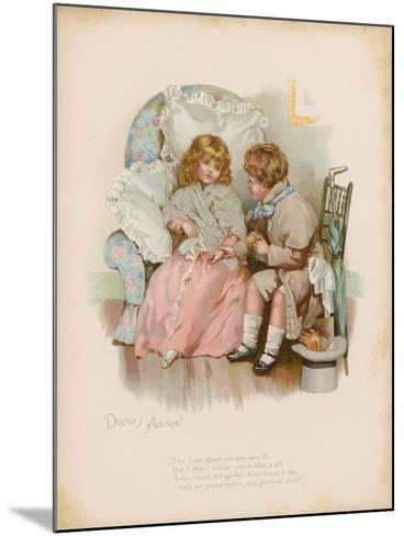 Doctor's Advice--Mounted Giclee Print