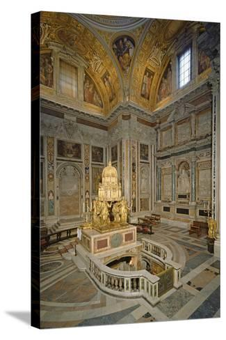 Crypt of the Nativity--Stretched Canvas Print