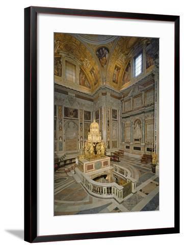 Crypt of the Nativity--Framed Art Print