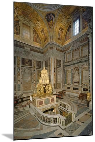 Crypt of the Nativity--Mounted Photographic Print