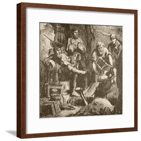 William Kidd--Framed Art Print