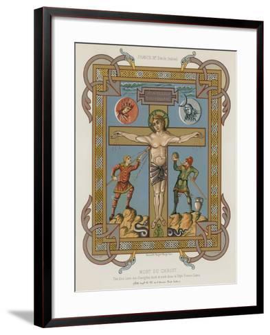 The Death of Christ--Framed Art Print