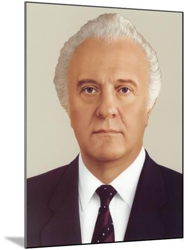 Eduard Ambrosis Shevardnadze--Mounted Photographic Print