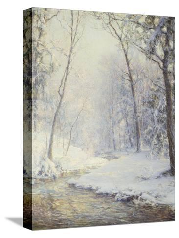 Early Snow-Walter Launt Palmer-Stretched Canvas Print