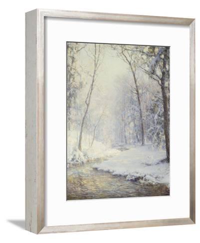 Early Snow-Walter Launt Palmer-Framed Art Print
