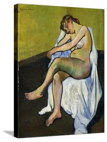 Seated Nude; Nu Assis, 1916-Suzanne Valadon-Stretched Canvas Print