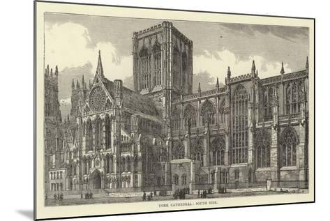 York Cathedral, South Side--Mounted Giclee Print