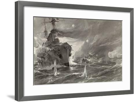 Defeat of the English--Framed Art Print