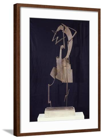 Woman Arranging Her Hair, 1929-30-Julio Gonzalez-Framed Art Print