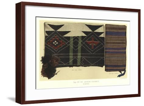 Shinumo Blankets--Framed Art Print