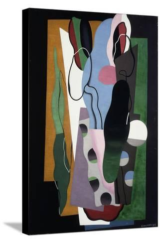 Les Tulipes, 1928-Georges Valmier-Stretched Canvas Print