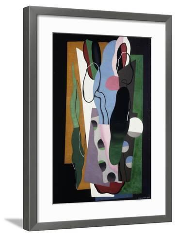 Les Tulipes, 1928-Georges Valmier-Framed Art Print
