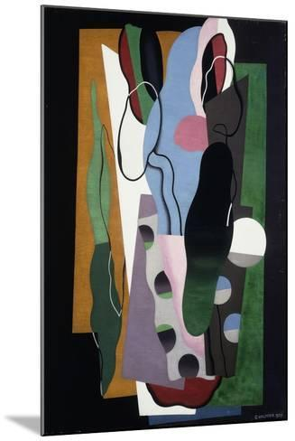 Les Tulipes, 1928-Georges Valmier-Mounted Giclee Print