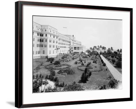 Hotel Royal Palm, Miami, Florida, C.1900--Framed Art Print