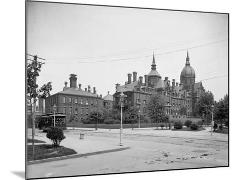 Johns Hopkins Hospital, Baltimore, Md., C.1903--Mounted Photographic Print